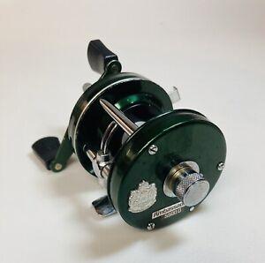 Ambassadeur Abu Garcia 5500D Green Fishing Reel Vintage Reels High Speed