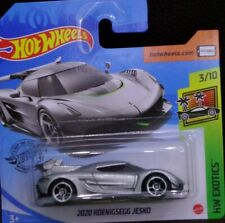 Hot wheels 2020 Koenigsegg Jesko HW Exotics 3/10 2020 228/250 GHB39-D521