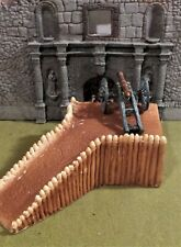 Cannon Ramp Unknown Maker Barzso? Fits well W/ Marx Conte, Barzso   54mm