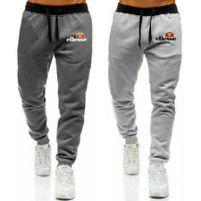 Mens Tracksuit Bottoms Sweat Pants Joggers Jogging Trousers Track Sports Gym New