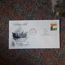 Estate Find Fdc - Canada / Scenic Wonderland 10 Cents, 1972