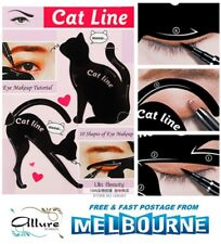 Cat Eye Line Eyeliner Stencil Eyes Liner Model Template Makeup Eyebrow Tool Kit