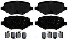 Disc Brake Pad Set-Fleet Semi-Metallic Disc Brake Pad Rear ACDelco Specialty
