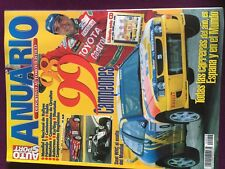 ANNUAIRE SPORT AUTO 1998 ANNUARIO DEPORTIVO RALLY WRC FORMULE 1 210 PAGES