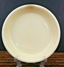 Vintage HOMER LAUGHLIN Oven Serve Pie Baking Plate Embossed Polychrome 10 3/4""