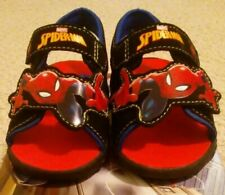 New Without Box Marvel Boys Size 5 Multi-Color Spider-Man Sandals
