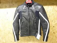 Blouson cuir moto femme taille M Lady 38 marque Motomod MTO coloris noir / blanc