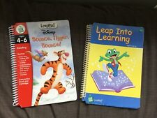 Leap Frog Leap Pad Leap In To Learning & Bounce tiger bounce books set