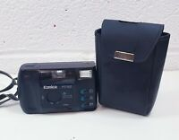 Vintage Konica MT-100 35mm Film Camera with strap and case working