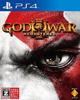PS4 GOD OF WAR III 3 Remastered PlayStation 4 Japan