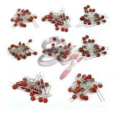 1000pcs 50 Values 50V Ceramic Capacitor Assorted kit Assortment Set Hot Sale