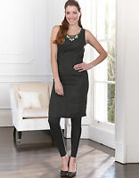 Bravissimo Embellished Shift Dress by Pepperberry in Black Color (31)