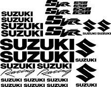 Suzuki SV650R SVR SV 650R SV650 R decals motorbike motorcycle stickers #55719