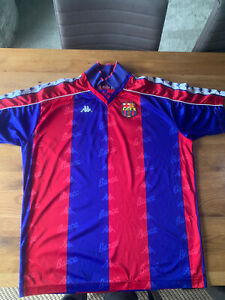 Barcelona kappa Home shirt 92-95 Retro Vintage