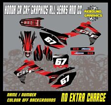 Rebound Graphics To Fit HONDA CR CRF 85 150 125 250 450 All Years and Models 77