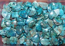 250CTS. NATURAL WOW AZURITE CABOCHON GEMSTONE WHOLESALE LOT 17