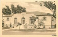 1920s Roswell New Hampshire Women's Club Building Teich postcard 9026