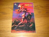Nasti : Monster Hunter #1 Premiere Issue Schism Comics Dean Armstrong