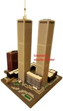 Lego New York WORLD TRADE CENTER Twin Towers custom instructions ONLY no pieces