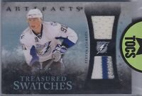 Steven Stamkos 2010-11 Artifacts Treasured Swatches Dual Jersey/Patch 03/50