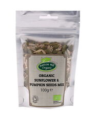 Organic Sunflower & Pumpkin Seeds Mix 100g Certified Organic