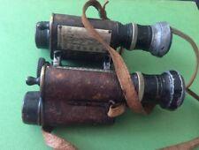 Named MC winner WW1 HUET PARIS EXTRA LUMINEUSE 7X military binoculars