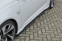 CUP Seitenschweller Schweller aus ABS für Opel Insignia B OPC Line Matt Schwarz