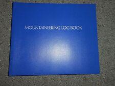 New RARE Campco Mountaineering Log Book Rock Climbing Hiking Journal Diary