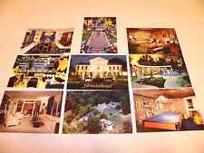 Ultimate Lot of 9 Postcards, Graceland Home of Elvis Presley, Memphis Tennessee