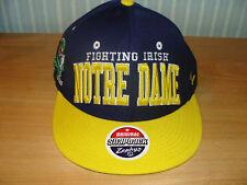 Zephyr Notre Dame Fighting Irish Snapback Cap Hat NCAA