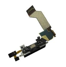 New BLACK Dock connector for iphone 4s 4gs charging port flex cable iPhone A1387
