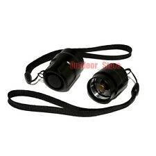 2pcs New Black Tailcap Click On/Off Switch For UltraFire C8 Flashlight Torch