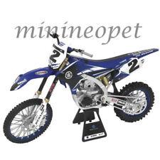 NEW RAY 49513 YAMAHA YZ 450F DIRT BIKE MOTORCYCLE 1/6 #2 COPPER WEBB BLUE