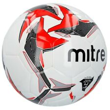 Mitre Tempest Futsal Football Soccer Match Training Ball White/Red - Size 4