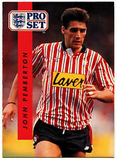 John Pemberton Sheffield United #193 Pro Set Football 1990-1 Trade Card (C363)