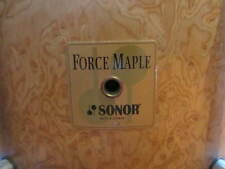 THE RAREST of the RARE! 1996 Sonor Force Maple Drum Set 22, 12, 13 ,16 BIRDS EYE