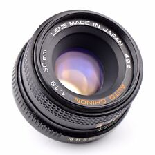 Auto Chinon 50mm f/1.9 Lens For Pentax K