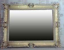 Espejo Barroco de pared oro / Blanco dual ANTIGUO ROCOCO 90x70