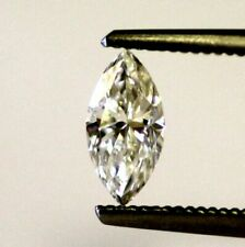 0.44 Ct Fancy Grey Marquise Shaped Brilliant Natural Loose Diamond 7.04 mm x 3.99 mm X 1.93 mm Genuine Color Rose Cut Loose Diamond SJ5276