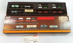 82510 Märklin Spur Z Wagenset Geislinger Steige Eisenbahn train Neuw. OVP 1:220