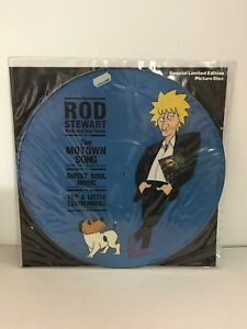 """Rod Stewart-Motown Song-Vinyl 12"""" Single-Picture Disc-VG Condition"""