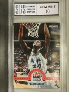 Shaquille Oneal 1994 SGS Graded! Lot 210