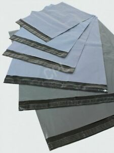 """Strong Recycled Grey Mailing Sack 13x19"""" 325x475mm - FREE DELIVERY"""