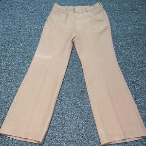 Vintage Levis MensSize 34 Pants STA PREST Action Slacks Brown Straight Leg