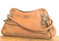 AMAZING LADIES LEATHER OSPREY LONDON BAG TAN COLOUR SMALL
