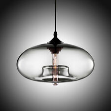Modern Glass Pendant Colored Hanging Ceiling Light Island Chandelier Lamp