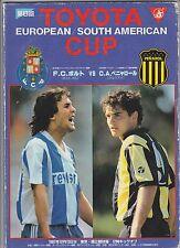 Orig.PRG  Weltpokal / TOYOTA Cup 1987   CA PENAROL - FC PORTO  !!  TOP RARITÄT