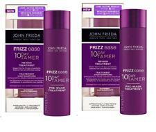 2x John Frieda Frizz Ease 10 Day Tamer Pre-Shampoo Pre-Wash Treatment 150ml
