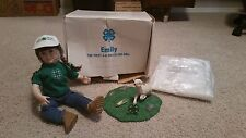 New Emily The First 4-H Collector Doll Danbury Mint Porcelain Original Box
