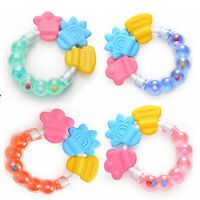 Hot Baby Rattle Teether Infant Molar Tooth Care Rattles Pacifier Toys FO